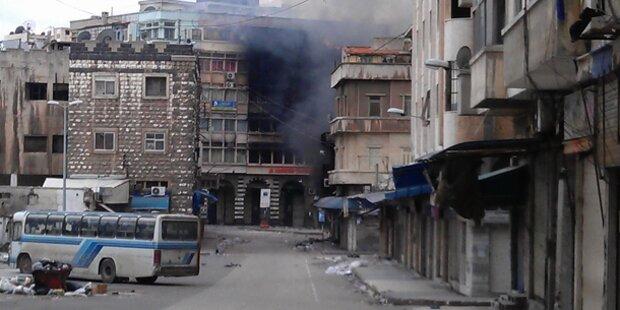 Syrische Armee startet Offensive in Homs