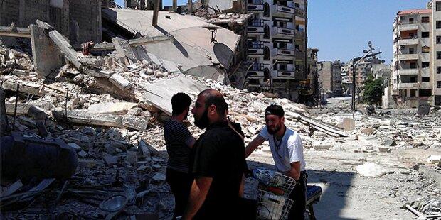 Syrische Armee schlachtet Zivilisten ab