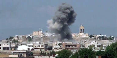 Explosion in Homs (Syrien)