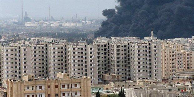 Syrien: Panzer verlassen Homs