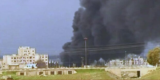Syrien: Russland fordert humanitäre Hilfe