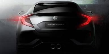 Honda zeigt den neuen Civic