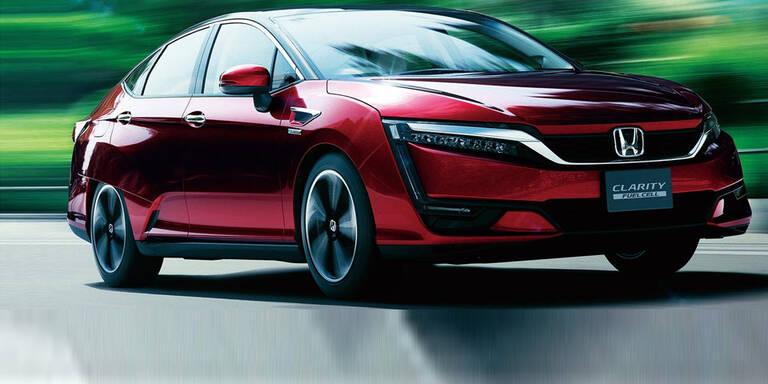 Brennstoffzellen-Honda mit Top-Reichweite