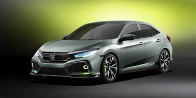 So kommt der neue Honda Civic