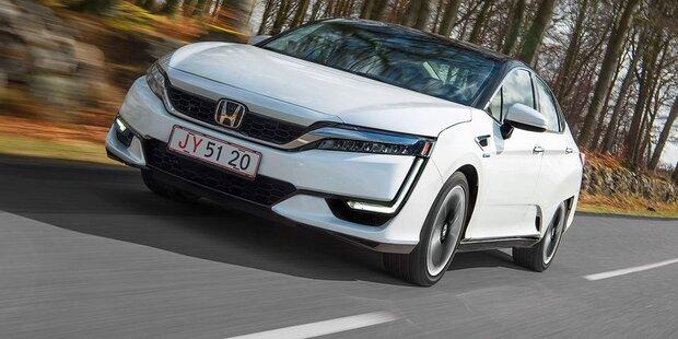 So fährt Hondas Brennstoffzellenauto