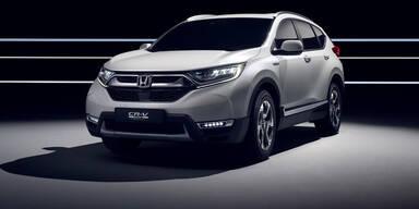 Honda zeigt den völlig neuen CR-V