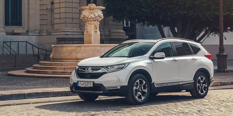 So kommt der neue Honda CR-V Hybrid