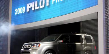 Achtsitziger Honda Pilot mit Öko-Technik
