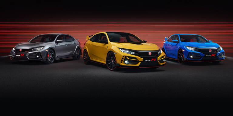 Honda bringt zwei neue Civic Type R Modelle