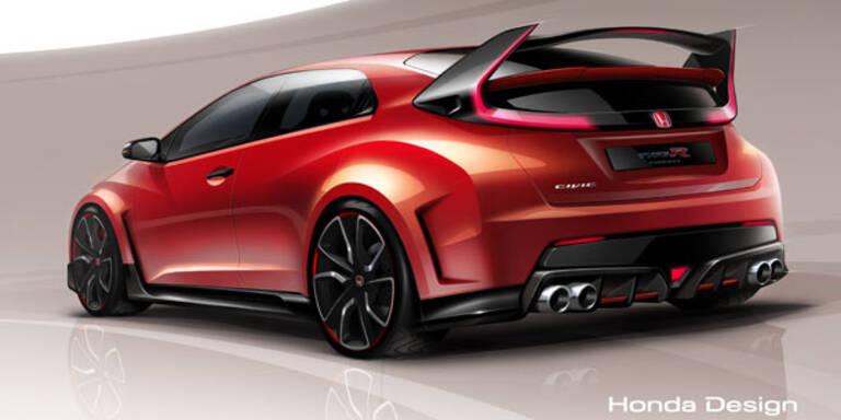 Honda zeigt den Civic Type R Concept