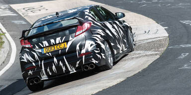 Honda Civic Type R als Erlkönig unterwegs