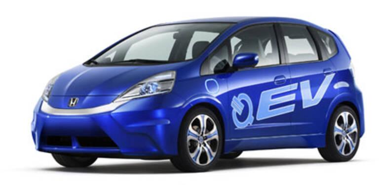 Weltpremiere des Honda Fit EV Concept