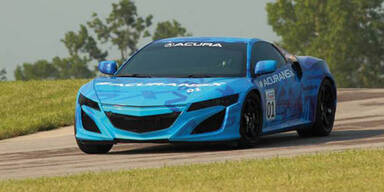 Honda NSX Prototyp dreht erste Testrunden