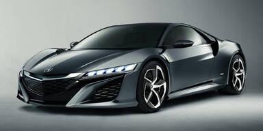 Honda zündet nächste Stufe beim neuen NSX