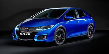 Honda verpasst dem Civic ein Facelift