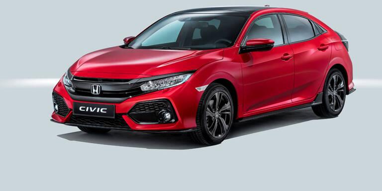 Das ist der völlig neue Honda Civic