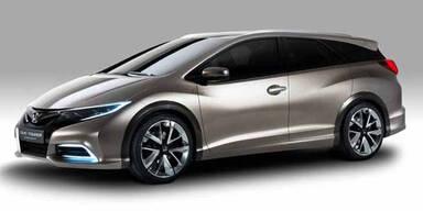 So kommt der Honda Civic Kombi
