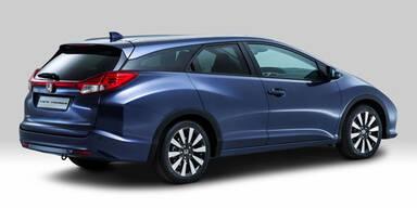 Alle Infos vom Honda Civic Tourer (Kombi)