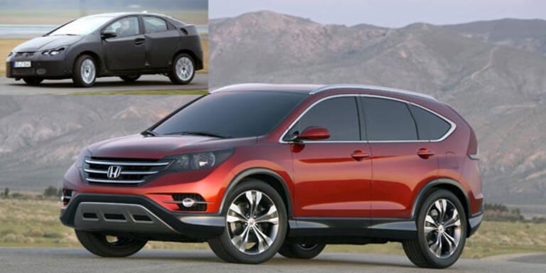Honda bringt neuen Civic und CR-V
