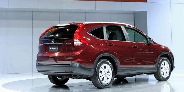 Weltpremiere des neuen honda cr v 2012 for Honda crv usa