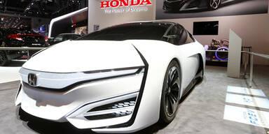Honda & Toyota bringen Brennstoffzellen-Autos