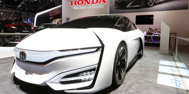 Honda stellt den FCEV Concept vor