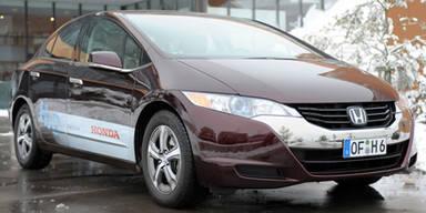Österreich-Premiere des Honda FCX Clarity
