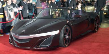 """""""Iron Man"""" fährt im Honda NSX Roadster vor"""