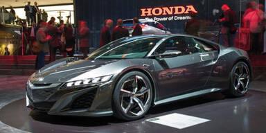 Europapremiere für den neuen Honda NSX