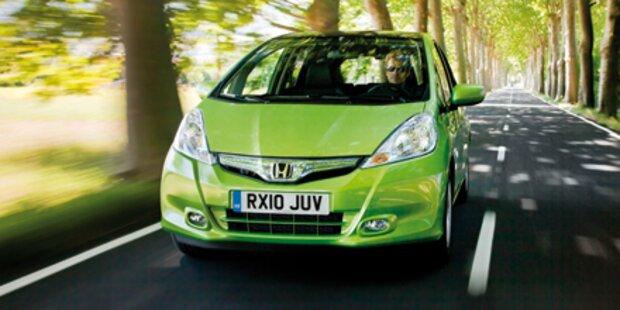 Honda Jazz Hybrid sartet in Österreich