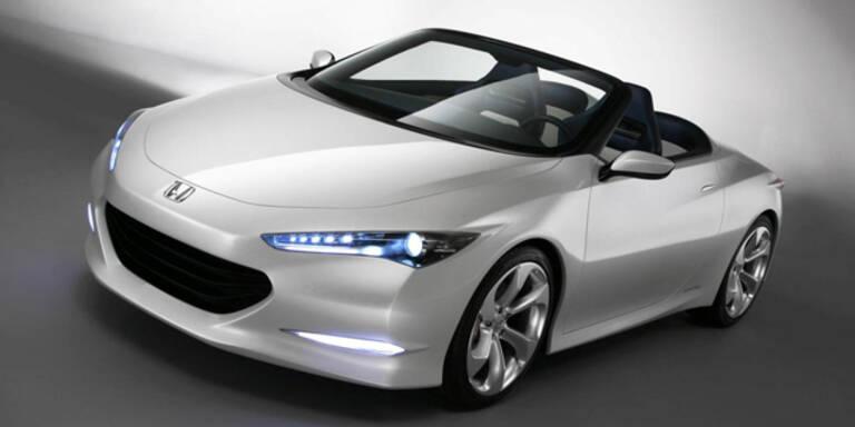 Honda zeigt neuen Öko-Roadster