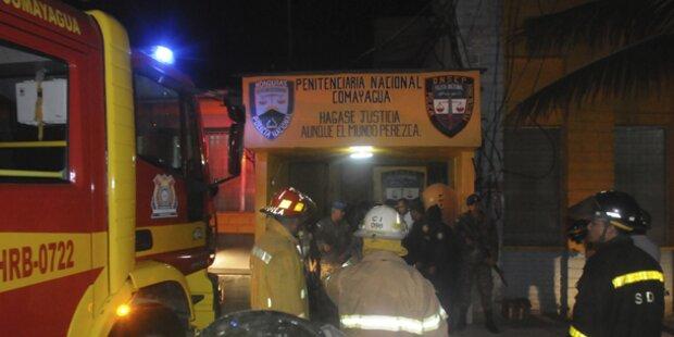350 Tote bei Gefängnisbrand in Honduras
