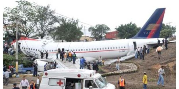 Flugzeugunglücke bei der Landung