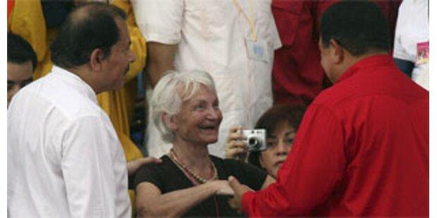 Margot Honecker in Nicaragua ausgezeichnet
