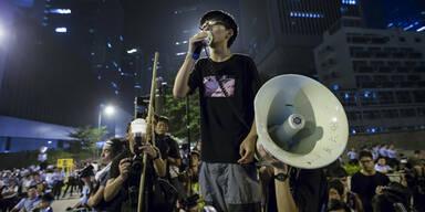 Proteste in Hongkong bleiben friedlich
