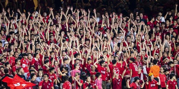 Geldstrafe als FIFA-Kniefall vor China