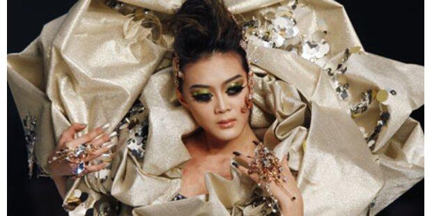 Hong Kong Fashion Week: Schnüre, Rüschen