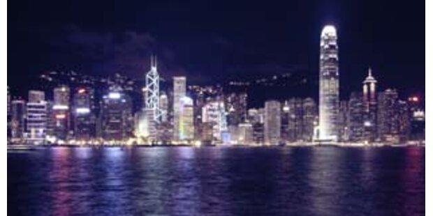 Taifun legte öffentliches Leben in Hong Kong lahm