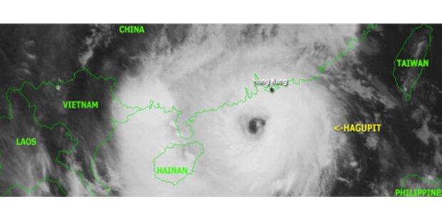 Elf Tote durch Taifun in China