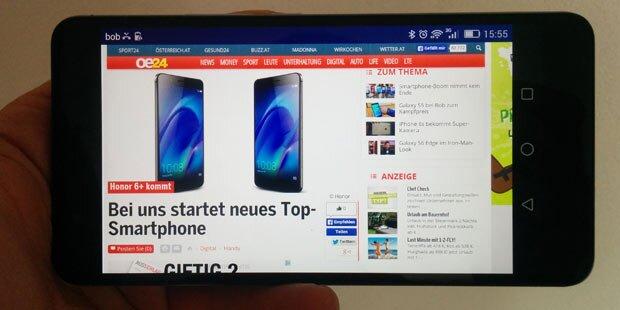 Günstiger iPhone 6 Plus-Gegner im Test