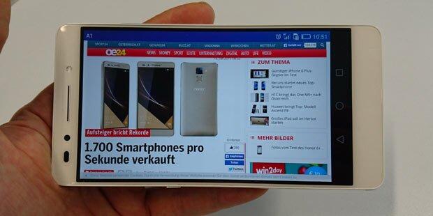 Günstiges Top-Smartphone im Test