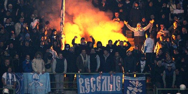 Russischer Brutalo-Hooligan festgenommen