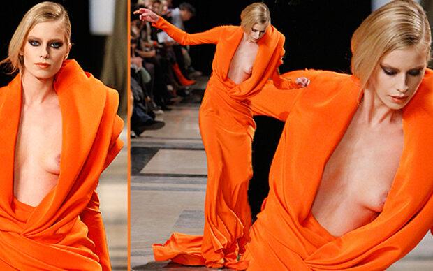 Catwalk: Stolperfalle für Models