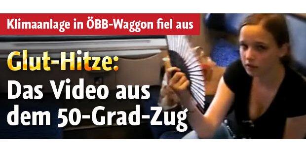 Video: Zusammenbruch in ÖBB-Waggon