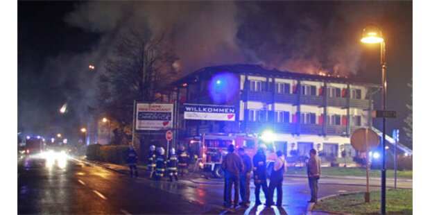 Hotel am Faaker See in Kärnten abgebrannt