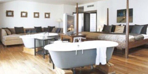 Außergewöhnliche Hotel-Badezimmer