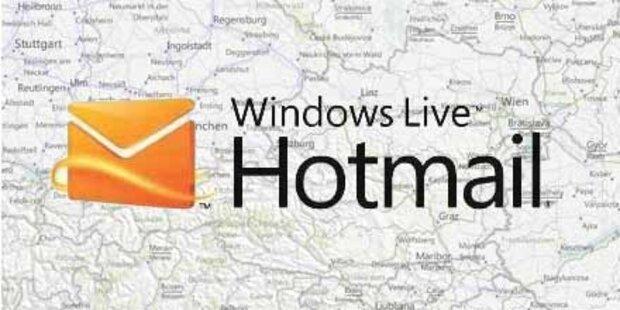 Windows Hotmail bekommt einen Geodienst