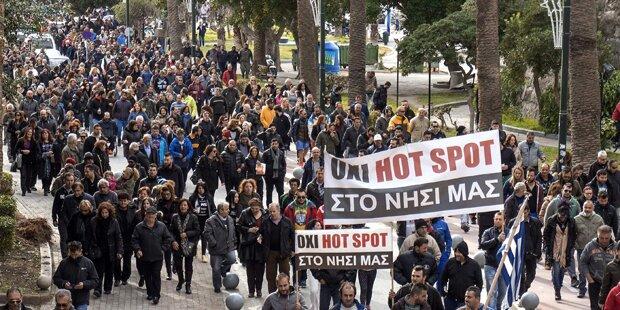 Griechenland: Vier Hotspots fertig