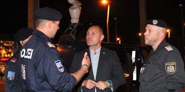 135 Festnahmen an Wiener Crime-Hotspots