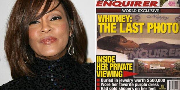 Whitney: Fotos von Leiche veröffentlicht